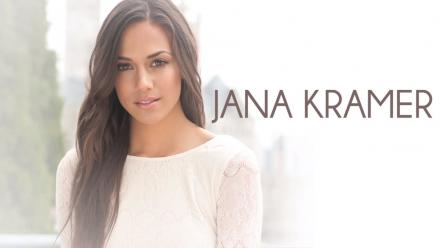 Brunettes white background jana kramer Wallpaper