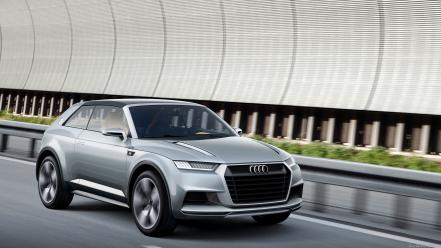 Cars audi roads concept art vehicles coupe suv Wallpaper