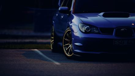 Cars subaru impreza wallpaper