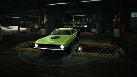 For speed plymouth barracuda world garage nfs Wallpaper