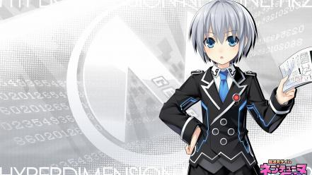 Hyperdimension neptunia mk2 tsunako gray girls watermark wallpaper