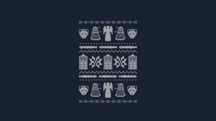 Jumper doctor who blue background weeping angel wallpaper