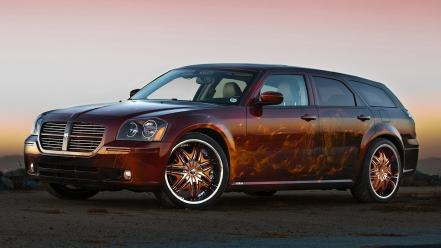 Cars widescreen dodge magnum Wallpaper