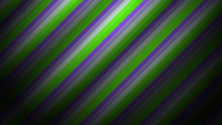 Green abstract purple alternate mardi gras stripes wallpaper