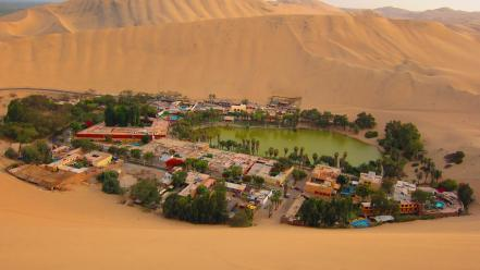 Huacachina wallpaper