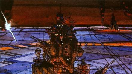 Cityscapes artwork drawings traditional art moebius wallpaper