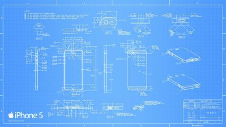 Deviantart blueprints iphone 5 Wallpaper