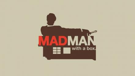 Mad men doctor who madman boxes wallpaper