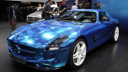 Paris cars sls amg auto wallpaper