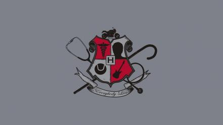 Coat of arms everybody lies gregory house m.d. wallpaper