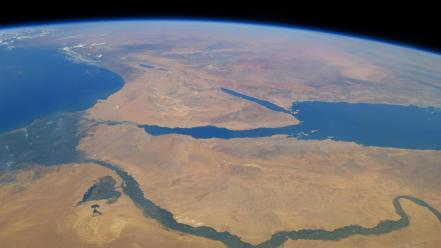 Nature outer space earth africa nile rivers wallpaper
