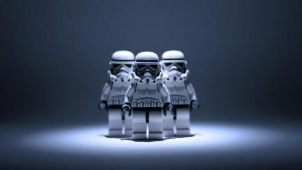 Star wars stormtroopers lego legos Wallpaper