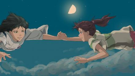 Studio ghibli chihiro (spirited away) free fall wallpaper
