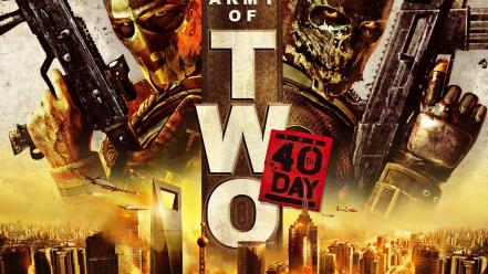 Video games army of two Wallpaper