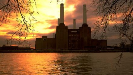 Buildings battersea power station wallpaper