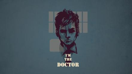 Minimalistic text artwork doctor who simple background wallpaper