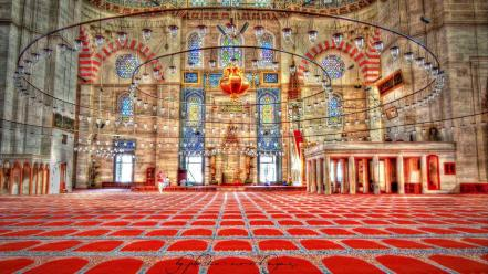 Turkish istanbul mosque Wallpaper