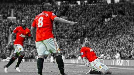 Van persie premier league cutout patrice evra wallpaper