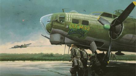 World war ii artwork wallpaper