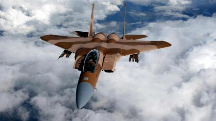 Aircraft f-15 eagle aviation air force wallpaper