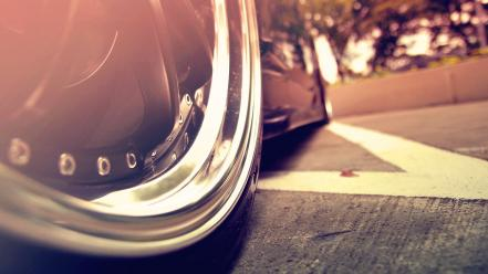 Cars depth of field wheel ar wallpaper