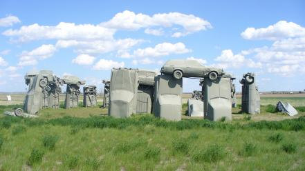 Cars gray alliance nebraska carhenge Wallpaper