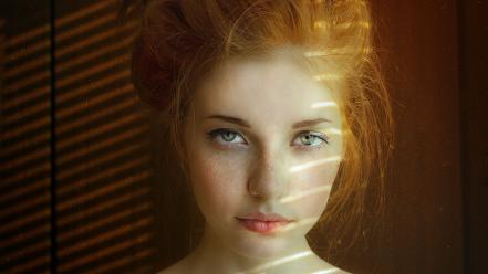 Freckles sunlight faces pale skin aleksandra v wallpaper