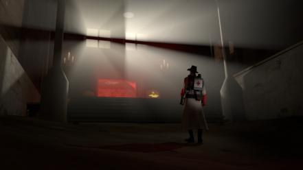 Games medic tf2 team fortress 2 3d wallpaper
