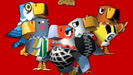 Nintendo gamecube animal crossing birds Wallpaper