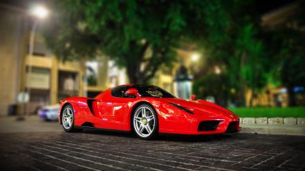 Video games cars ferrari enzo wallpaper