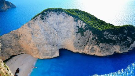 Water landscapes beach outdoors greece zakynthos navagio sea wallpaper