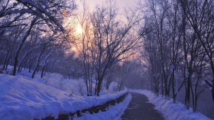 Xinjiang province snow wallpaper