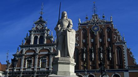 Cityscapes architecture day europe statues Wallpaper