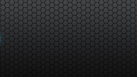 Hexagons textures glow multiscreen Wallpaper