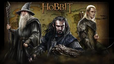 Maps wizards hobbit middle-earth legolas thorin oakenshield wallpaper
