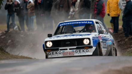 Rally racing ford escort races car drift wallpaper