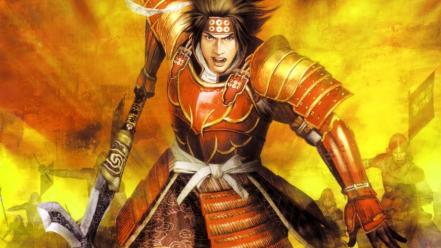 Samurai spears sanada yukimura warriors wallpaper