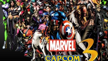 Video games street fighter animation marvel vs capcom Wallpaper