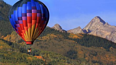 природа горы воздушный шар без смс