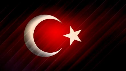 Red flags turkey atatürk wallpaper