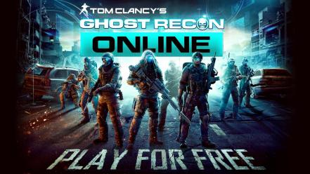 Video games ghost recon online Wallpaper