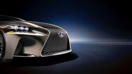 Cars studio front lexus supercars headlights lf-cc wallpaper