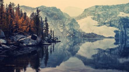 Mountains lakes reflections instagram autumn Wallpaper