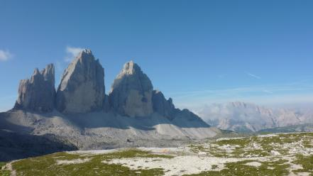 Nature italy alps 3 cime di lavaredo wallpaper