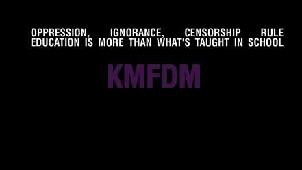 Text quotes simple background black kmfdm Wallpaper