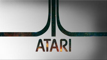 Video games outer space minimalistic atari wallpaper