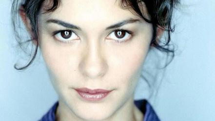 Audrey Tautou Face Wallpaper