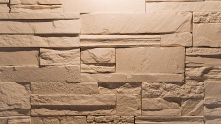 Close-up wall stones bricks wallpaper