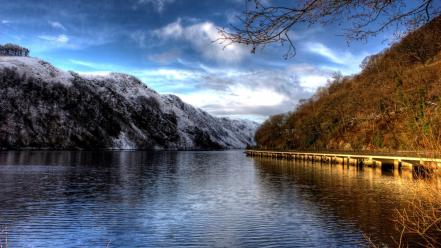 Landscapes lakes wallpaper
