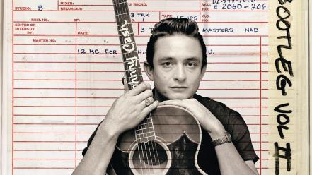 Music guitars johnny cash singers album covers wallpaper
